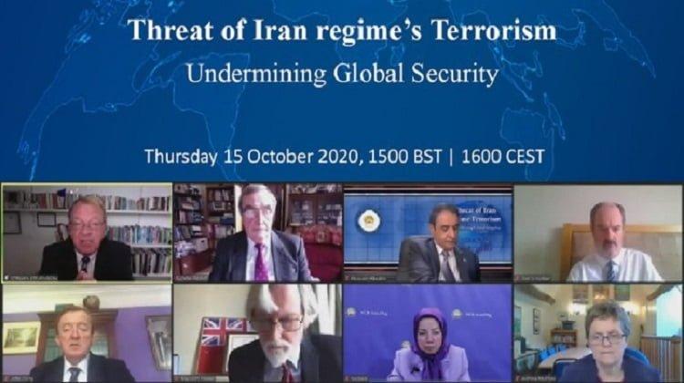 UK Lawmakers in Online Event, Threats of Iran Regime's Terrorism